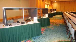 table-top booths